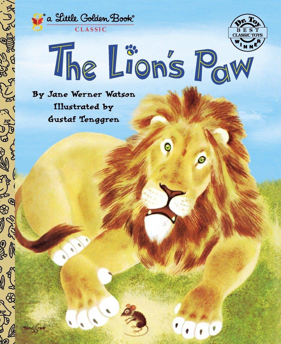 Lion's Paw (Little Golden Book Series)
