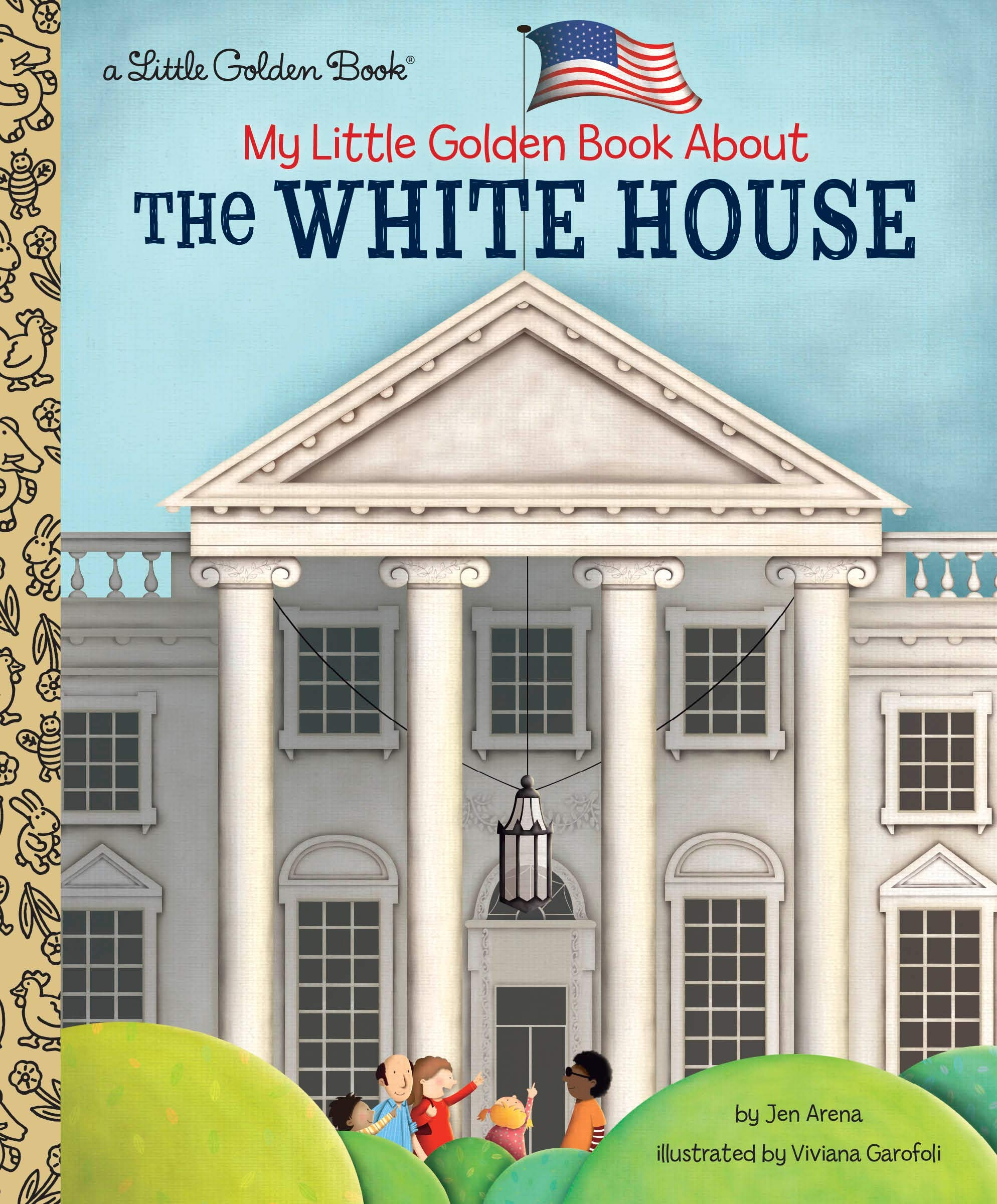 My Little Golden Book about the White House (Little Golden Book Series)